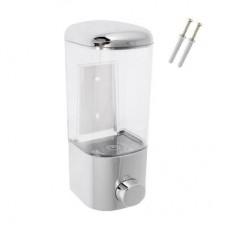 Дозатор д/жидкого мыла настенный 500мл/8,5*8,5*20см/НS-40801/SonWelle /ГЦ